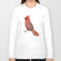cardinal Long Sleeve T-shirts featuring Cardinal by Freeminds