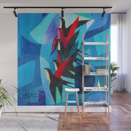 Starlings - The Dynamism of Flight by Pippo Rizzo Wall Mural