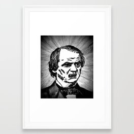 17. Zombie Andrew Johnson  Framed Art Print