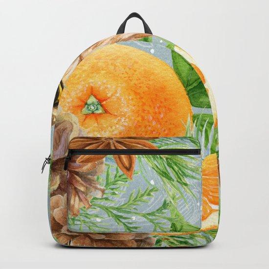 Winter animal #10 Backpack