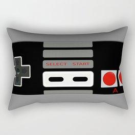 Retro Game Console Rectangular Pillow
