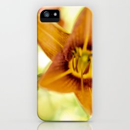 Day Lily Abstract iPhone Case