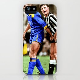 Gazza and Vinny in colour iPhone Case