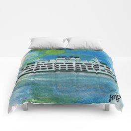 Sailing on Heavenly Seas Comforters