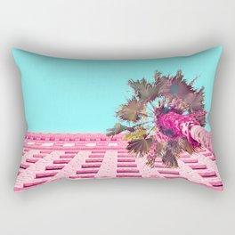 LA Palm Tree Look Up Rectangular Pillow