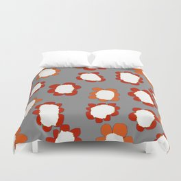 Daisies on Putty pattern Duvet Cover