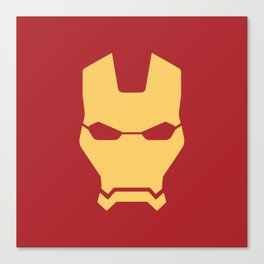 Iron man superhero Canvas Print