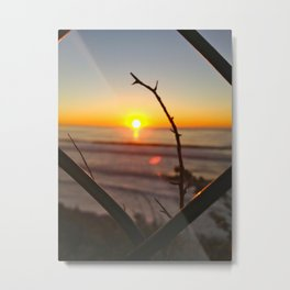 Uncaged Sunset Metal Print