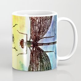 DRAGONFLY meets a Friend Coffee Mug
