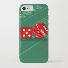 Craps Table & Red Las Vegas Dice Slim Case iPhone 7