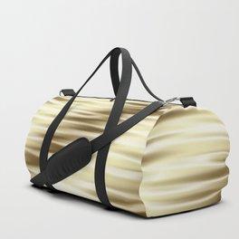 Golden silk pattern Duffle Bag