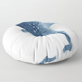 The Shark Star Floor Pillow