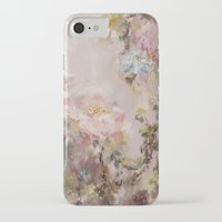 nursery iPhone & iPod Cases featuring Flora painting/Nursery by Erin Zhao