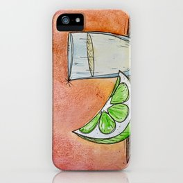 Tequila Shot #1 iPhone Case