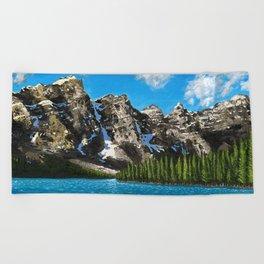 Canadian Vista  Beach Towel