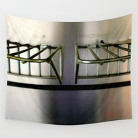 metal Wall Tapestries featuring Metal On Metal by oneofacard