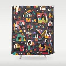 Schema 15 Shower Curtain