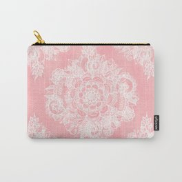 Marshmallow Lace Carry-All Pouch