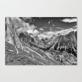 Dolomites - Rosengarten group Canvas Print