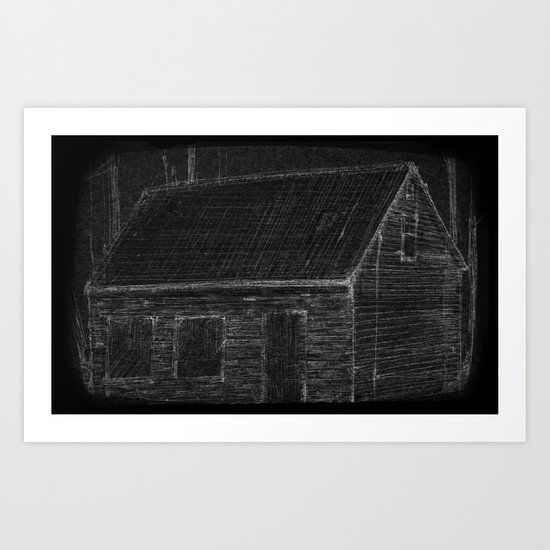 """The Mathers House"" by Matthew Vidalis Art Print"