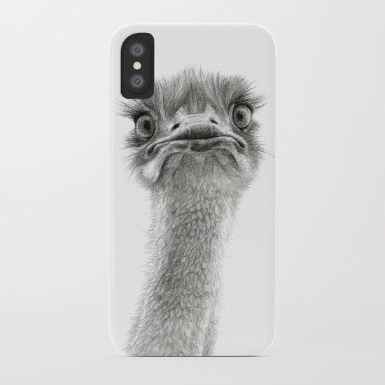 Cute Ostrich SK053 iPhone Case