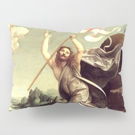 "Giovanni Antonio Boltraffio ""The Resurrection of Christ with the Saint Leonard of Noblac and Lucia"" Pillow Sham"