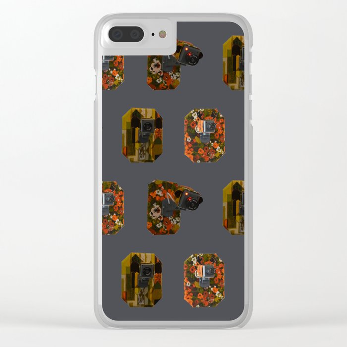 Eyes on the Prize Clear iPhone Case