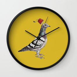 Unflappable Wall Clock