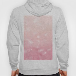 Touching Coral Pink Abstract Painting #1 #ink #decor #art #society6 Hoody