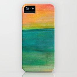 Ocean Sunset Series, 4 iPhone Case