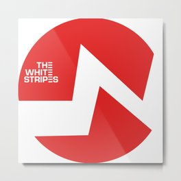 The White Stripes Metal Print