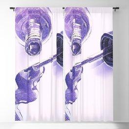 Purple Polish Blackout Curtain