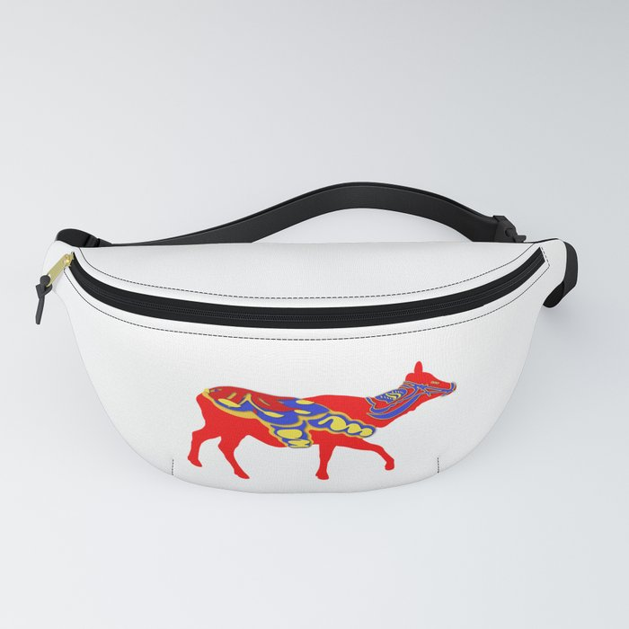 Graphic Dala Elk Female Fanny Pack