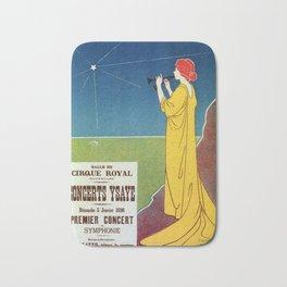 Concerts Ysaye 1896 Henri Meunier Bath Mat