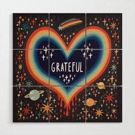 Grateful Wood Wall Art