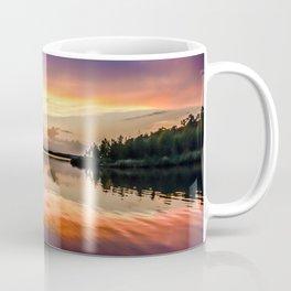 Sunset Symmetry Coffee Mug