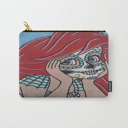 Ariel Sugar Skull 2 Carry-All Pouch