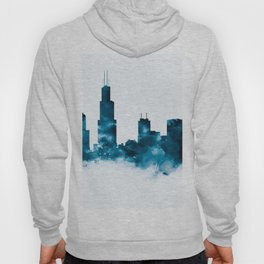 Chicago Skyline Hoody