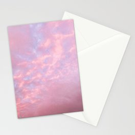 Cotton Candy Cloud Cover Stationery Cards