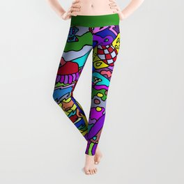Abstract 12 Leggings