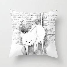 minima - deco cat Throw Pillow