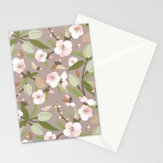 Almond orchard Stationery Cards