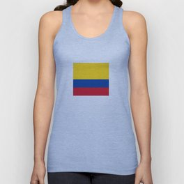 Flag of Colombia-Colombian,Bogota,Medellin,Marquez,america,south america,tropical,latine america Unisex Tank Top