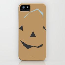 A Sly Little Jack-O-Lantern iPhone Case