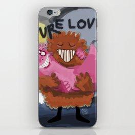Pure Love iPhone Skin