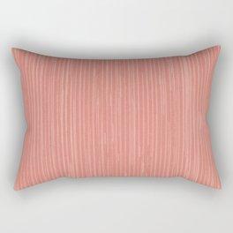 Abstract modern coral geometrical stripes Rectangular Pillow