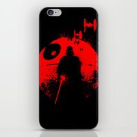 star lord iPhone & iPod Skins featuring Death Star Dark Lord by leea1968