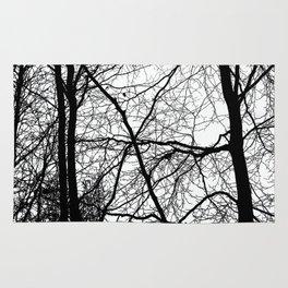 Tree Silhouette Series 3 Rug