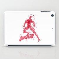 daredevil iPad Cases featuring Daredevil Superhero by Carma Zoe