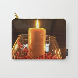 Glass Bowl Candle Decor Carry-All Pouch